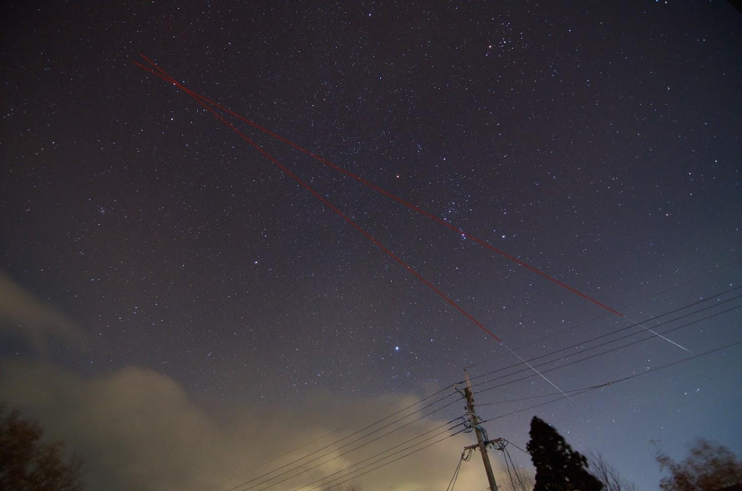 Geminid Meteors 2014 - Version 2