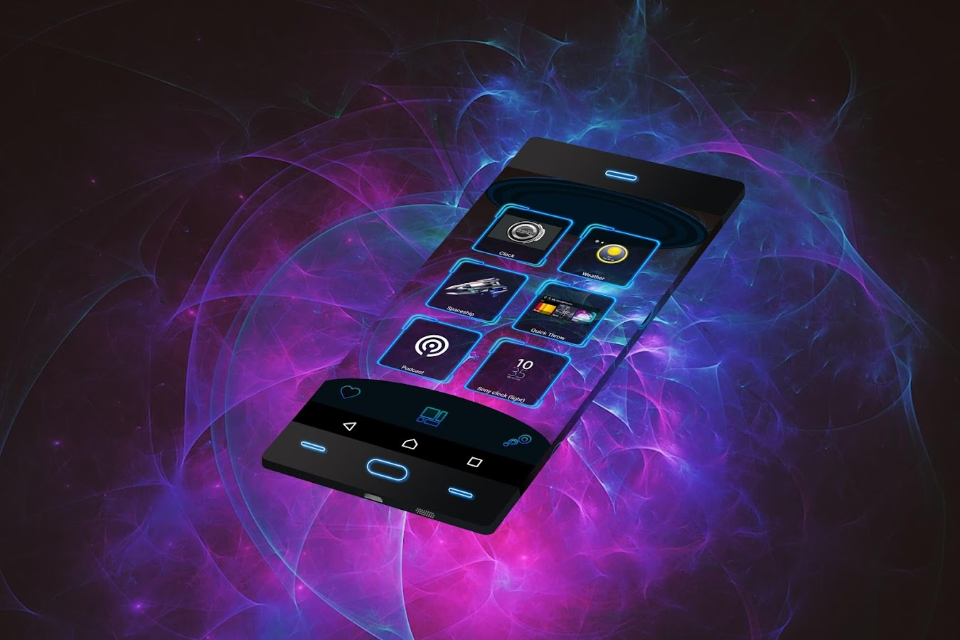 Screenshots of 3D Themes for Android for iPhone