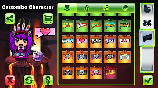 Bomber Friends MOD APK [Unlocked Skins] 10
