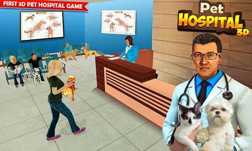 Pet Hospital Vet Clinic Animal Vet Pet Doctor Game apkdebit screenshots 5