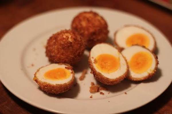 Breaded Eggs Recipe