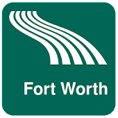 Fort Worth Map offline