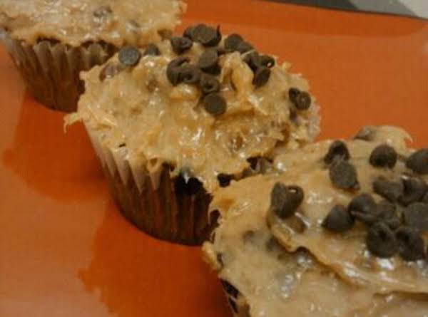 Chocolatechip Cupcakes Wth Coconut Pecan Frosting Recipe