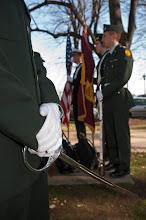 Photo: Veterans Day Ceremony 2011.    Photo by Lee Pellegrini, BC Chronicle.