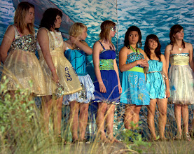 Photo: Bluff oyster festival (ocean-themed) fashion show