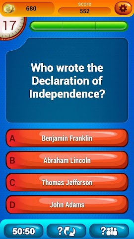 android US Citizenship Questions Screenshot 4