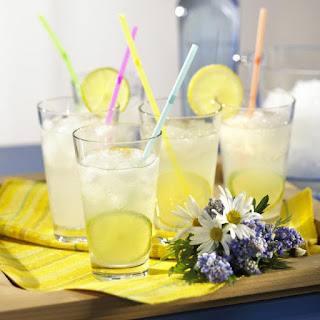 Vodka-lemon Cocktail.