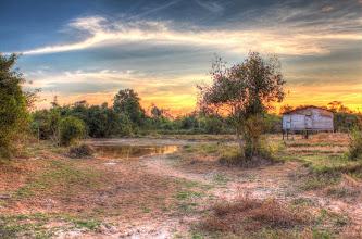 Photo: Laos Reisen, Sonnenuntergang