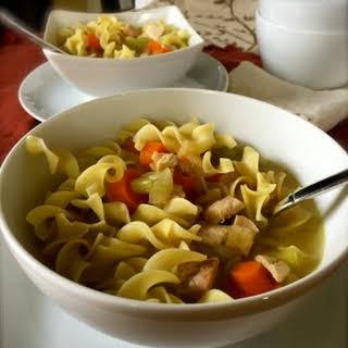 Leftover Turkey Soup.