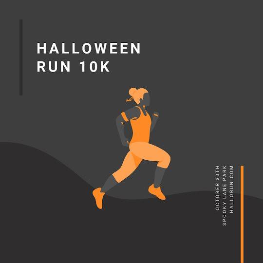 Halloween Run 10K - Halloween Template