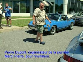 Photo: Pierre Dupont, organisateur de la journée. Merci de l'invitation!