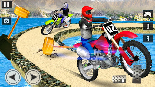 Offroad Moto Bike Impossible Stunt Racing for PC