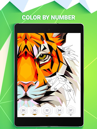 POLYGON: Color by Number android2mod screenshots 12
