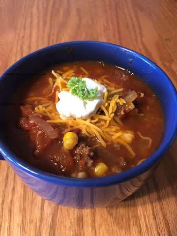 Whiskey & Coke Chili