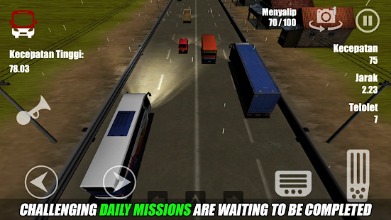 play Telolet Bus Driving 3D on pc & mac