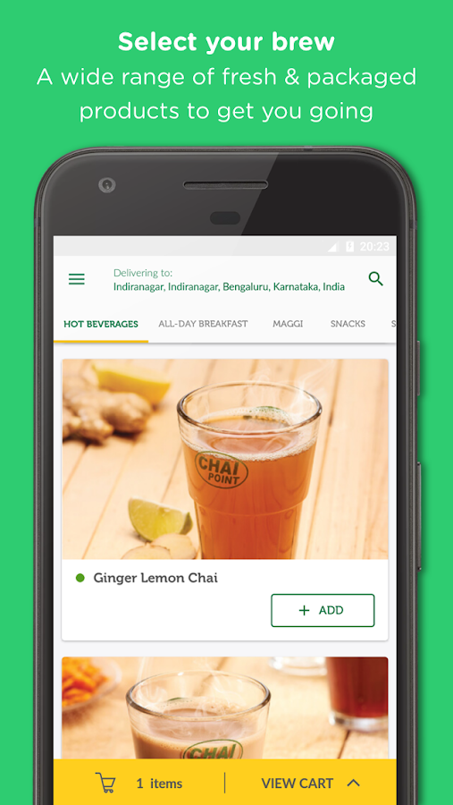 ChaiPoint  Food & Tea Delivery- screenshot