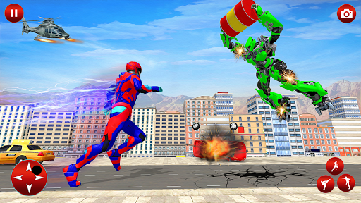 Superhero Robot Speed Hero apkpoly screenshots 4