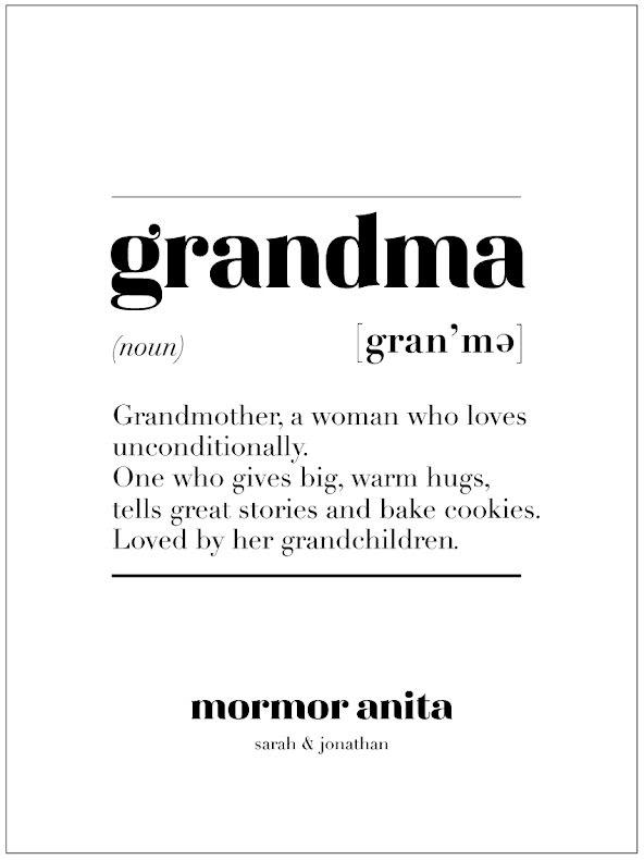 GRANDMA IS