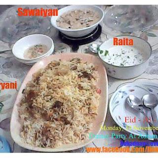 Biryani Rice.