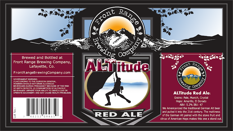 Logo of Front Range Altitude Red Ale