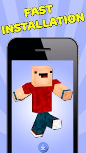 Download NoobSkins Für Minecraft PE APK APK Für Android - Skins fur minecraft installieren