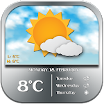 Accurate Weather Widget 2.0 Apk
