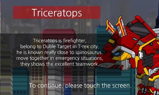 Triceratops - Combine! Dino Robot : Dinosaur Game screenshots 1