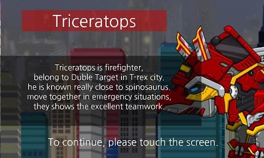 Triceratops - Dino Robot - náhled