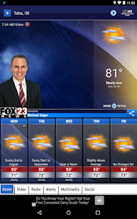 FOX23 Weather- screenshot thumbnail