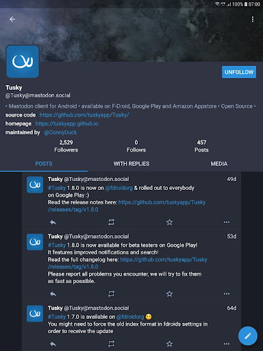 Tusky for Mastodon screenshot 9