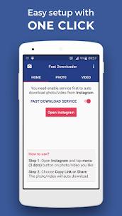 Fast Downloader – save photo, video on Instagram 1.5.6 Mod APK Latest Version 1