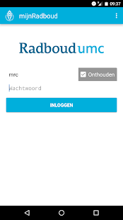 mijnRadboud- screenshot thumbnail