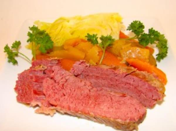 Baked Corned Beef And Cabbage