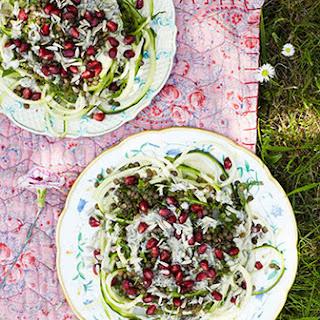 Puy Lentil And Pomegranate Salad