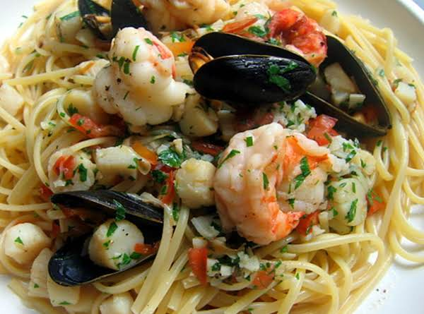 Seafood Scampi Recipe 2 Just A Pinch Recipes