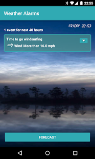 Custom Weather Alerts Pro- screenshot thumbnail