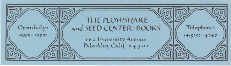 Photo: Plowshare and Seed Center Books