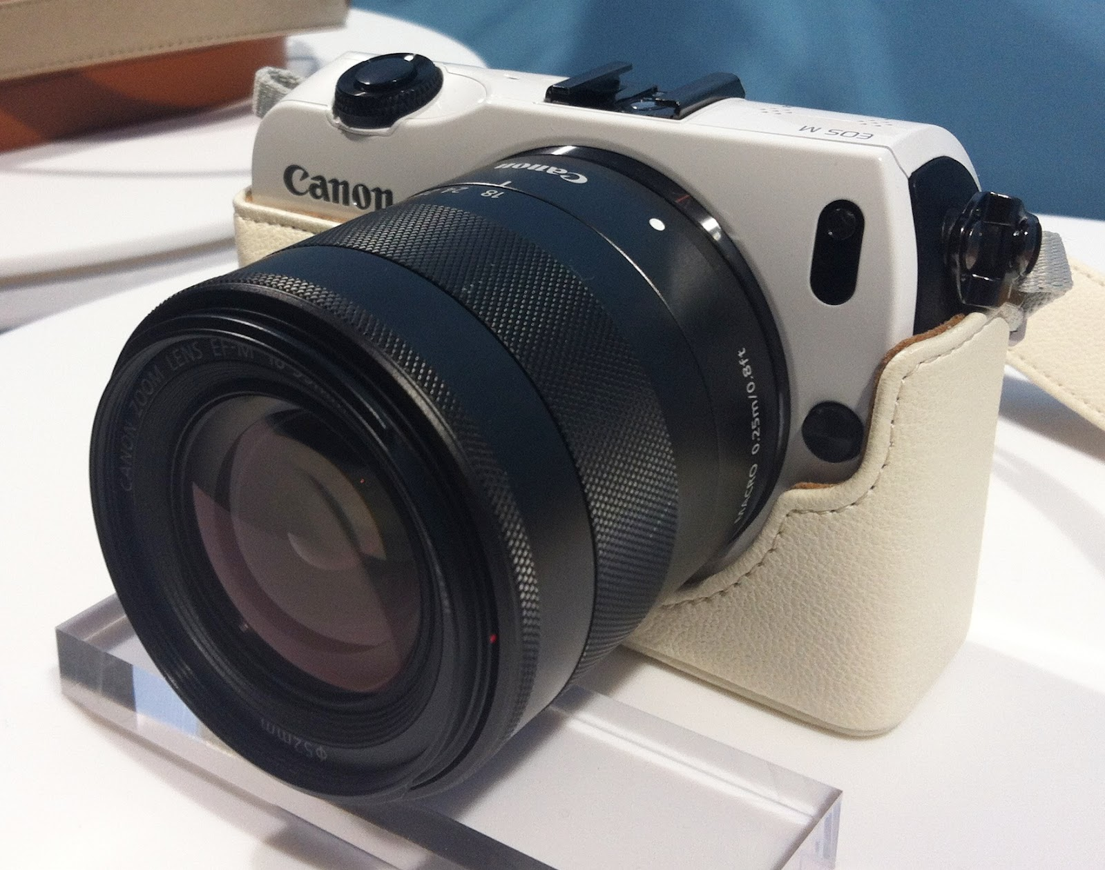 Photo of a Canon camera