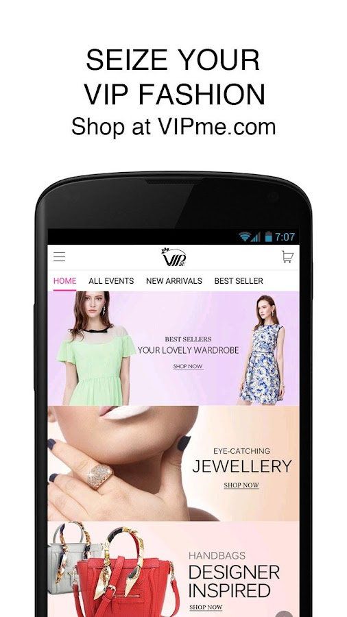 VIPme Fashion Shopping App- screenshot
