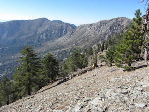 Photo: Sadie Hawkins (8047'). View northwest toward Windy Gap and Mt. Islip (left)