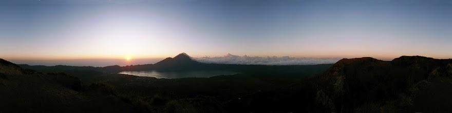 Photo: Indonesia, Bali, Gunung Batur Volcano and Lake Danau Batur