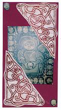 Photo: Wenckin's Mail Art 366 - Day 80, Card 80a