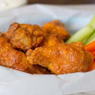 Crispy Baked Chicken Wings.