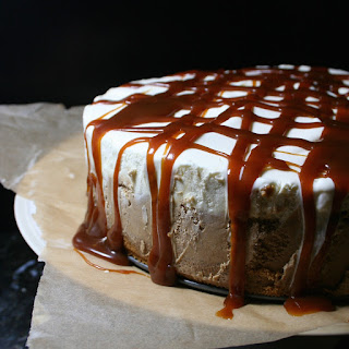 Caramel Macchiato Ice Cream Cake
