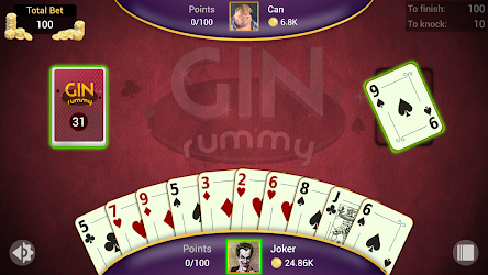 Gin Rummy – Offline APK Download – Free Card GAME for Android 8