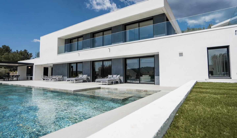 Villa avec piscine et jardin Le Tholonet