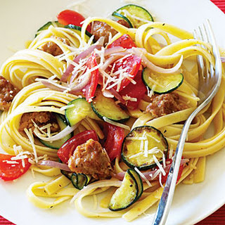 Italian Sausage and Zucchini Pasta