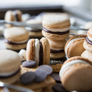 S'mores French Macarons