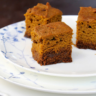 Pumpkin Gingerbread Squares - vegan
