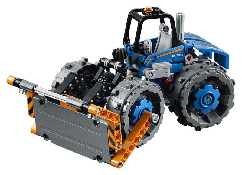 Contenido de Lego® 42071 Buldócer Compactador